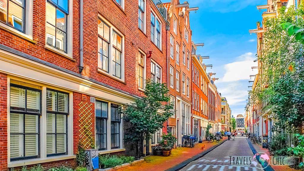 Barrio Jordaan, uno de los barrios que ver en Amsterdam
