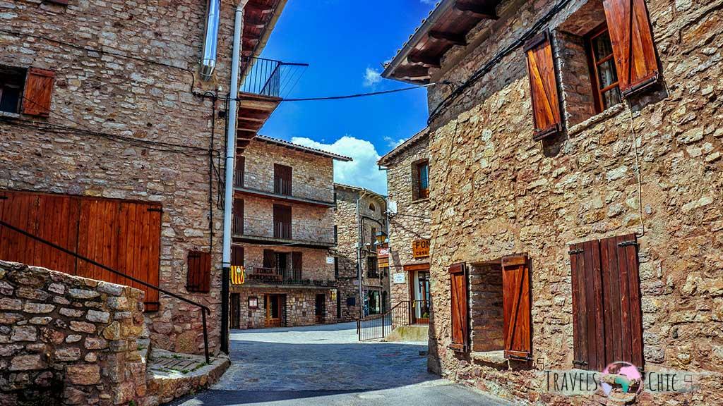 Casco antiguo Castellar de N'hug