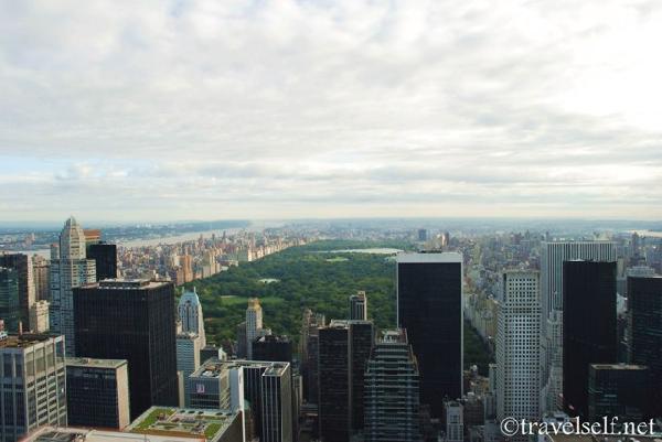 картинка вид на Централ Парк сверху фото