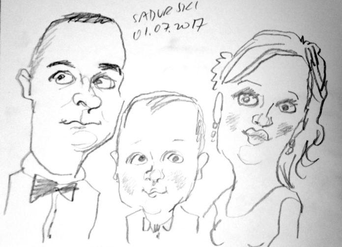 karykatury na zywo wesele event