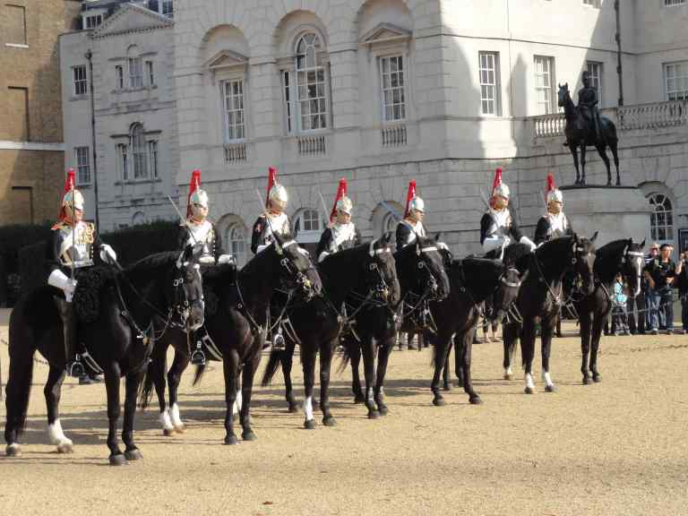 Changing of the Horse Guards - 02