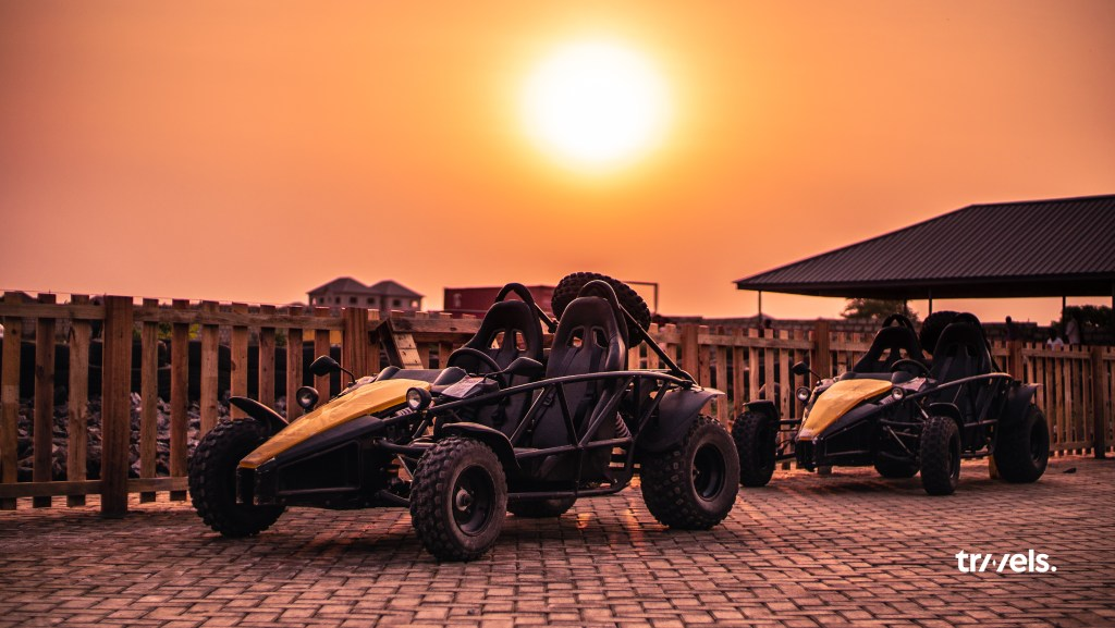 Off-road go-kart at deon recreational centre