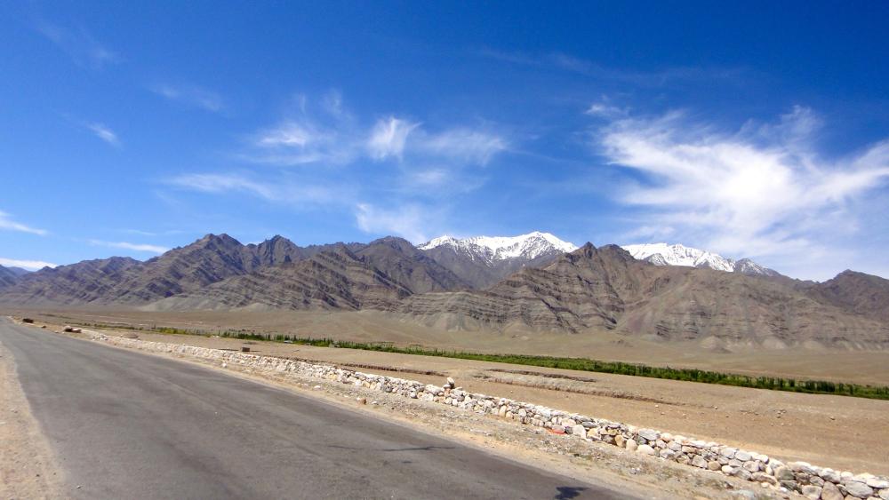 Manali Leh Road Highway