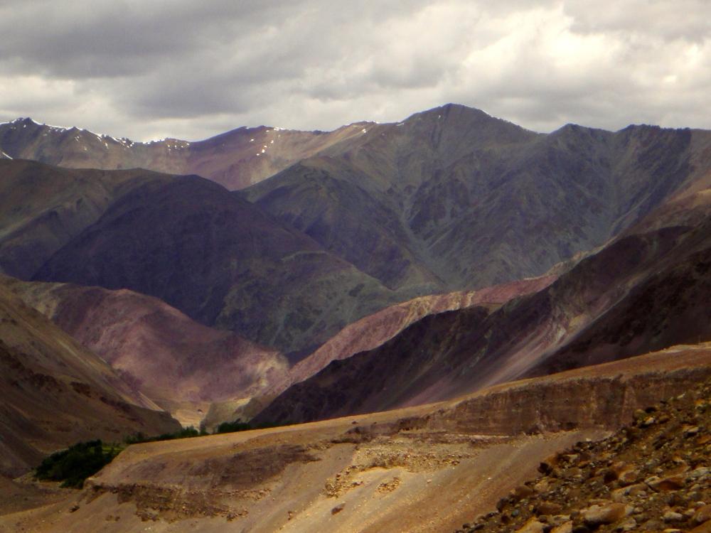 Ladakh colours.
