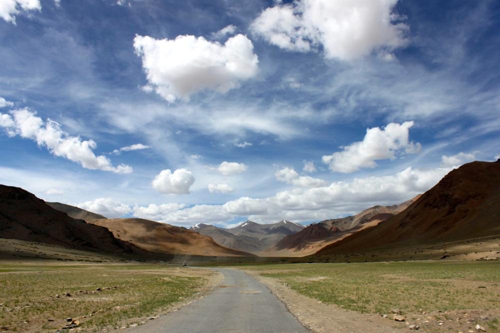 Manali Leh Highway.