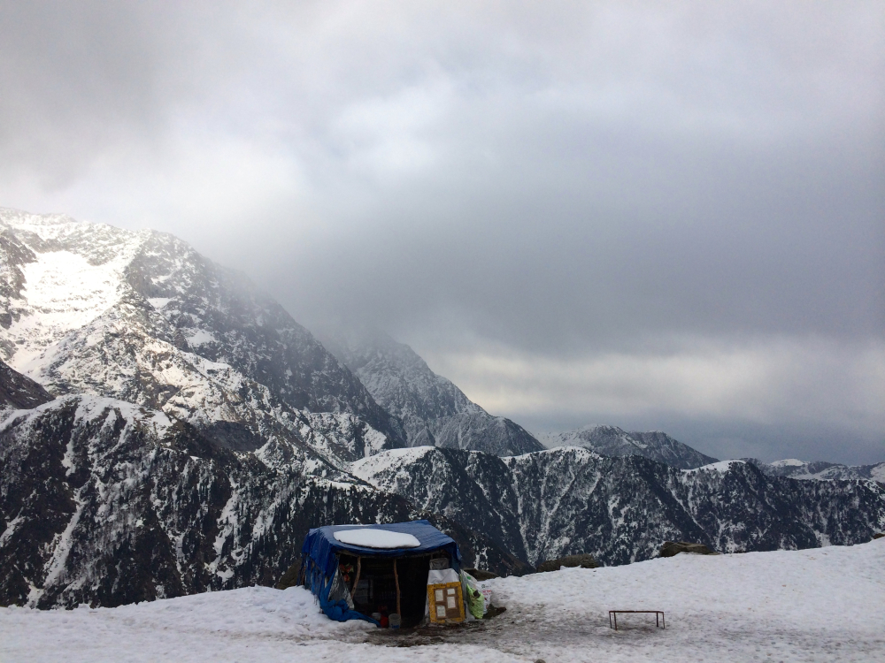 Cafe at Triund Top Dhaba