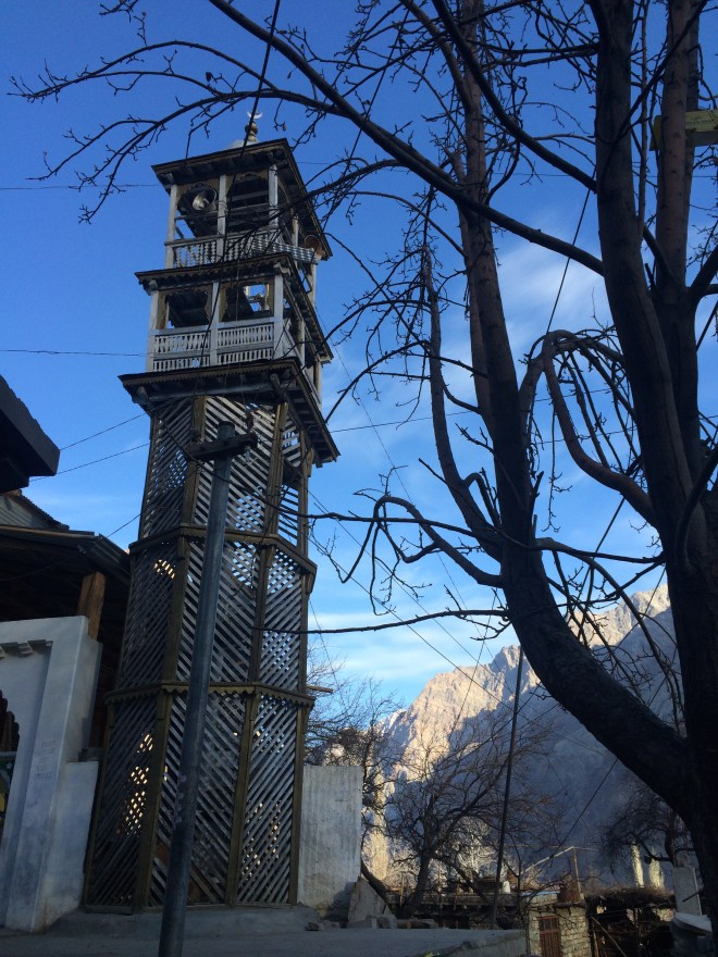 A centuries old stone tower, closed alas due to cases of suicide!