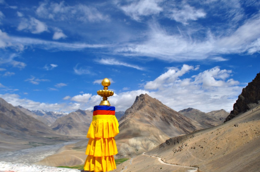 View from Key Monastery Spiti