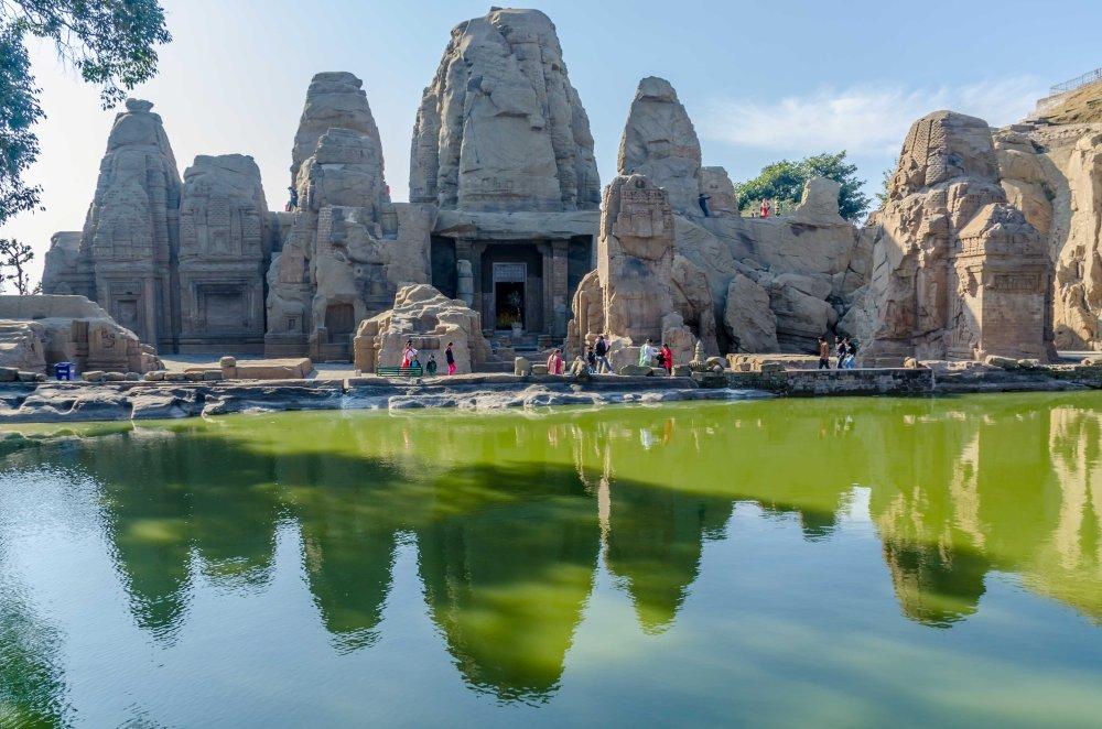 Masrur Rock cut temples