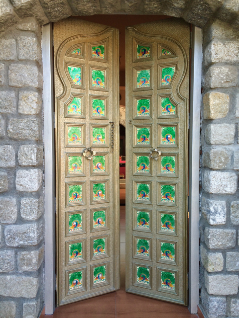 Door at Maharaja Sansar Chand Museum