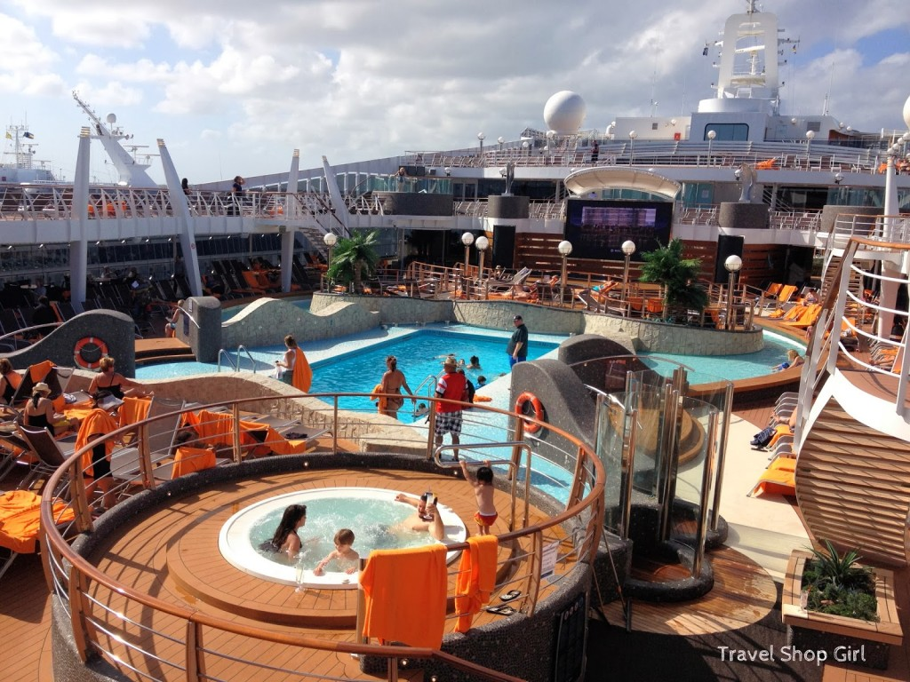 MSC Divina Pools Sun  Fun  MSC Cruises Review  Travel