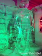 Ice sculptures at Magic Ice