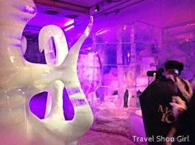 Ice sculptures at Magic Ice