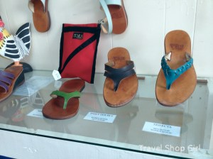 More handmade custom sandals from Zora of St. Thomas