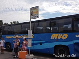 Arriving Into Venice And The Atvo Bus
