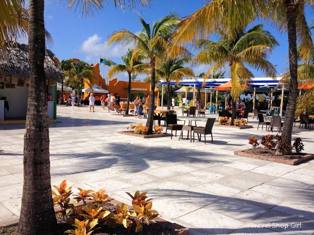 Visiting Little San Salvador Half Moon Cay on MSC Divina