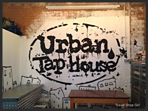 Veggie Burgers and Beer at Urban Tap House in Cardiff