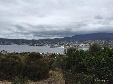 touring Hobart
