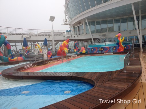 H2O Zone and Pool on Deck 15