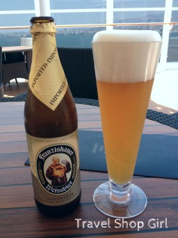 Franziskaner Weissbier served at The One Bar