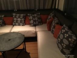Seating in Aquavit Terrace