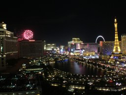 Caesar's fireworks as seen from our balcony