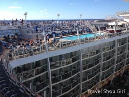 Main pool on deck 15