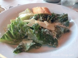Norwegian's Signature Caesar Salad with housemade dressing, shaved Parmesan