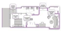 Terrace One Bedroom Floor Plan