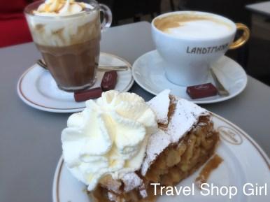 Coffee at Café Landtmann in Vienna