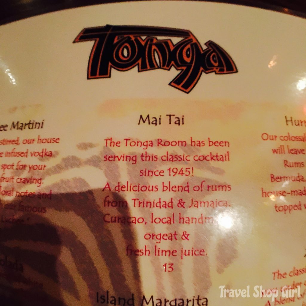 A Trip Back in Time to the Tonga Room in San Francisco
