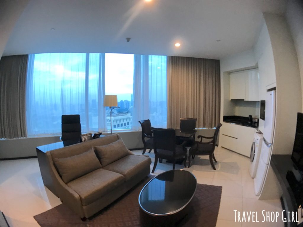 hotel with kitchen mission style hardware bangkok review: grande centre point terminal 21