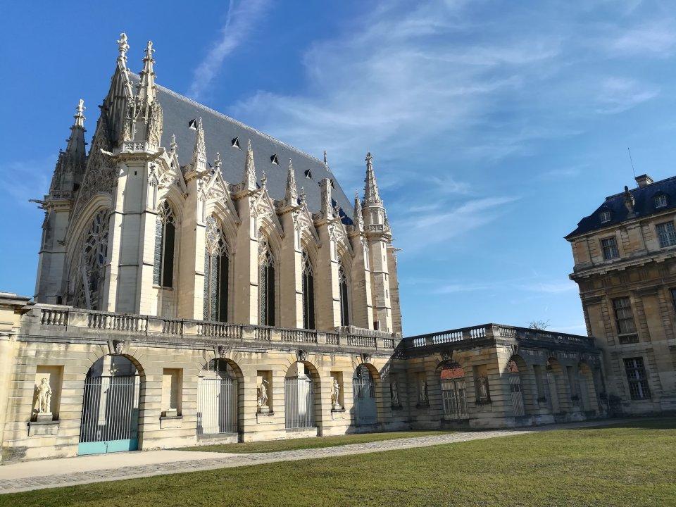 Sainte Chapelle at the Château de Vincennes