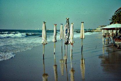 Hua Hin Beach at Dawn., Thailand - Mari Nicholson
