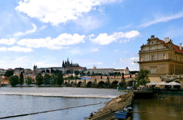 Prague's Riverside
