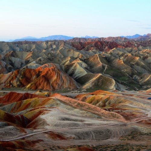 Rainbow Mountains Zhangye Danxia Geopark | China