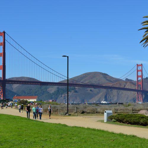 Crissy Field - Golden Gate Bridge - San Francisco - California