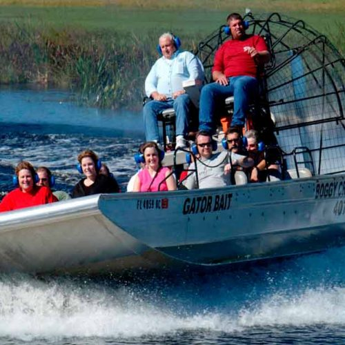 Boggy Creek Airboat Tour - Orlando - Florida - USA
