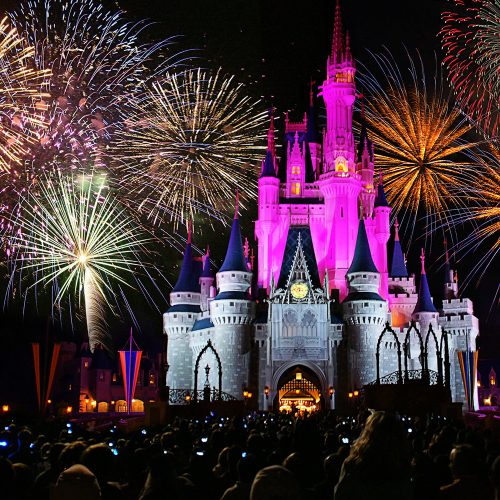 Disneyland - Orlando - Florida - fireworks
