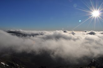 Mountains, Sardinia, Clouds