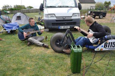 Guitars, Music, Camping