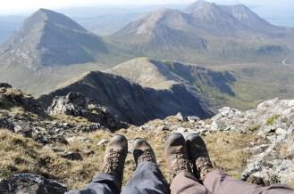 Garbh-bheinn, Isle of Skye, climbing