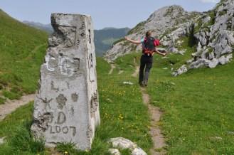 Hiker, Albania, Montenegro