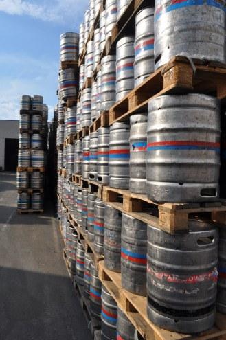Beer barrels, Delirium, Huyghe