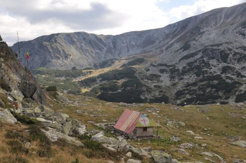 One of the Mountain rescue huts.
