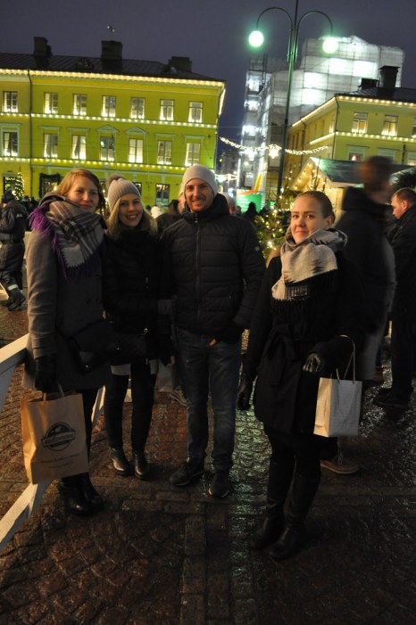 Christmas market and friends!