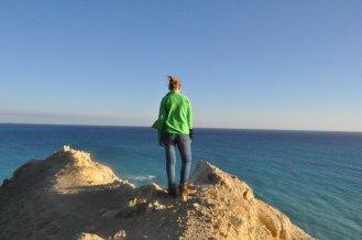 The beautiful, blue Mediterranean!