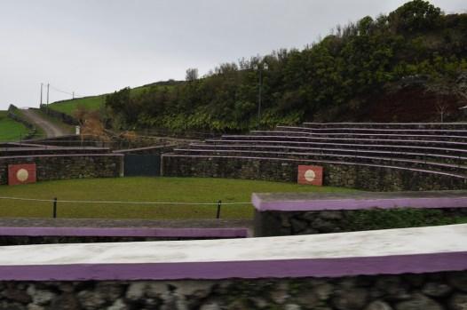 Empty arena.