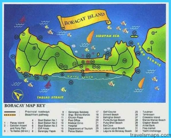 BORACAY MAP - TravelsMaps.Com