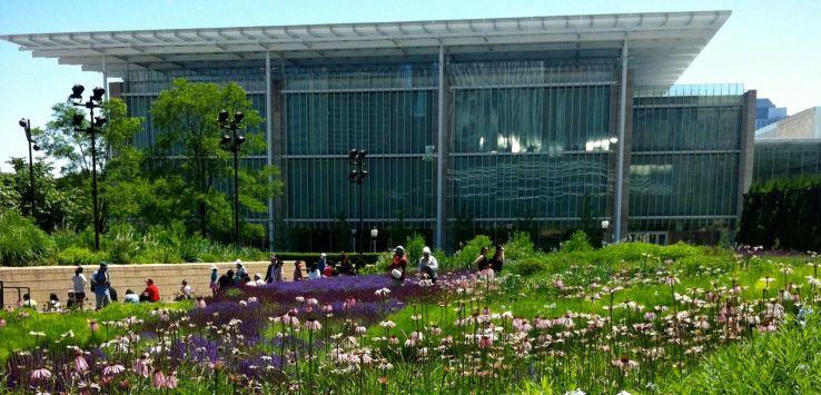 Millennial Park-Art Institute